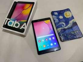 Samsung Tab A8 2019 2/32Gb 8inci fullset bekas mulus siap pakai