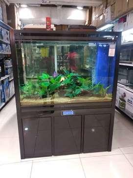 Aquarium and Cabinet Set Lj di Ace Hardware bisa Cicilan di Homecredit