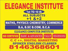 Teacher required for all subjects
