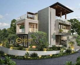 Jasa Arsitek Bandung Desain Rumah 275m2 - Emporio Architect