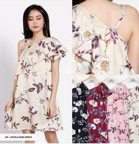 Dress Cantik Bahan Lembut Halus