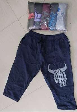 3/4th Shorts Mens Rs 100