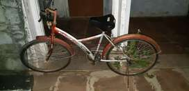 Bicycle  with pump for 1700