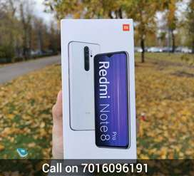Redmi Note 8 Pro SEAL PACK phone | 6gb Ram & 128gb internal memory