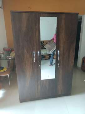 Brand new Almirah..wardrobe,, without storage bed