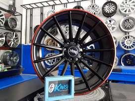bisa untuk mobil honda jazz-freed-mobilio velg hsr r17x75-9