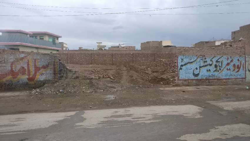 Plot for rent on main dora road kohat road linked with Main Ring road 0