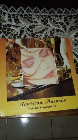 Cakram laser disk american karaoke special standart 40