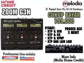 Promo Kredit ZOOM G3N Syarat KTP+SIM di Melodia Musik Surabaya