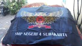 Tempat Buat bendera spanduk umbul umbul kain satuan bijian custom solo