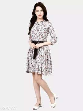 Trendy adorable women's dress
