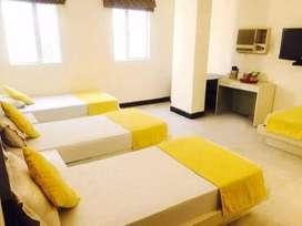 girls hostel- in nagra toli 3 times food