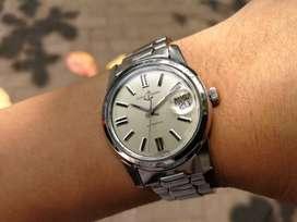 Ori 70s Ulysse Nardin automatic Date Silver Satin Dial omega patek iwc