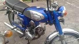 Yamaha L2G tahun 1972 clasic siap pakai