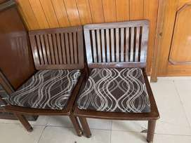 Wooden chairs (Set of 2)