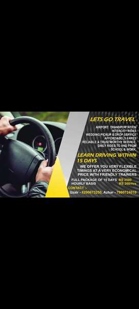 Learn driving in 15 days @ 2500