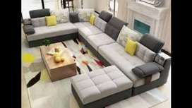 O EMI from bajaj finance 9 seater sofa with center table