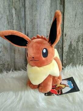 Boneka Pokemon Eevee Pokemon Center Original
