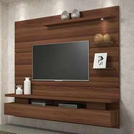 pengrajin meja backdrop tv
