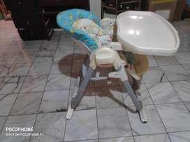 Dijual Baby High chair Chicco normal dan kondisi bagus mothercare