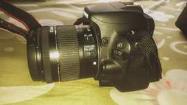Canon 200d with efs 18-55mm and efs 55-250mm lens
