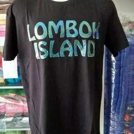 "Kaos ""Lombok"" berkualitas SALE!"