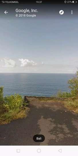 Tanah los Tebing Pantai di samping Omnia pecatu, kuta selatan, Bali