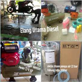 harga gudang 1 sett untuk usaha cuci steam