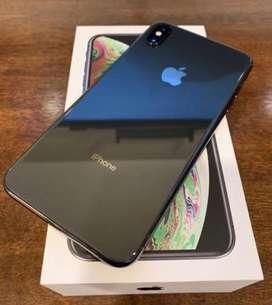 I Phone Xs Max 64 Gb black color