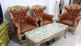Sofa set kayu ukir antik