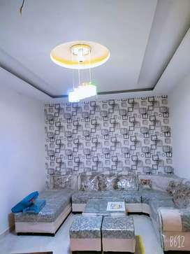 Fully furnished flat available for students and families