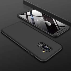 Samsung galaxy J8 2018 360 protection slim matte case