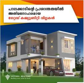 3 BHK river view house for sale in palakkad town in 5 cent land