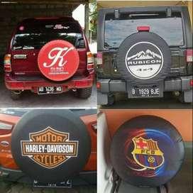 Cover/Sarung Ban Ford Ecosport/Rush/Terios/Taft Aja Ayo Serbu beda uku