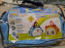 Tas Perlengkapan Bayi Besar Baby Scots Baby 2 Go Doraemon Series