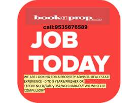 Property Sales Consultant || SALARY 35K||