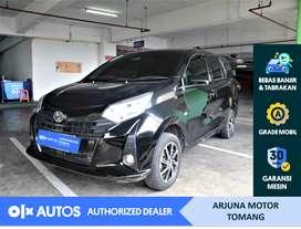 [OLXAutos] Toyota Calya 2019 1.2 E M/T Bensin Hitam #Arjuna Tomang
