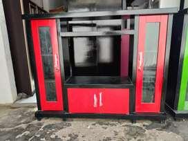 Bufet tv minimalis / bufet tv murah / bufet tv avanza murah merah