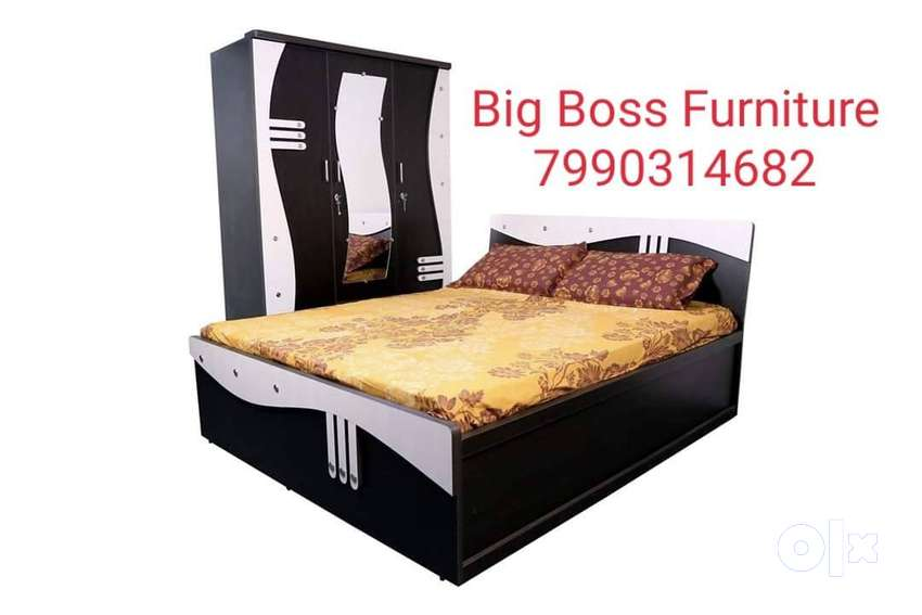 Best price bed + wardrobe combo set available 0