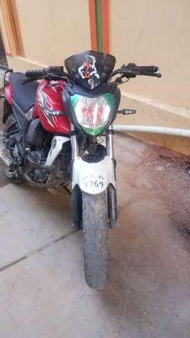 40,000 bike rate in 15000 in finance  hand give me 25000
