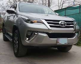 Toyota Fortuner, Sigma 4, 2018, Silver Colour, Isd Registered