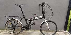 Bahan Restorasi sepeda lipat Aleoca practice