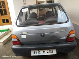 Blue Maruti Suzuki 800  2003 Model with GPS Tyre and DRL indicater