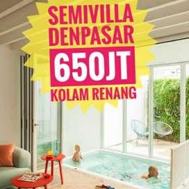Rumah Dijual Semi Villa Ada Kolam Renang Denpasar Bali