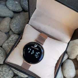 Magnet led touch digital watch