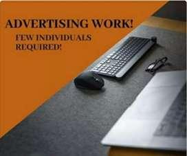 Advertising work