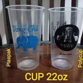 Gelas cup 22 Oz sablon custom tg1