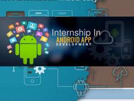 Android Mobile App Development Internship