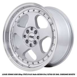 Velg Mobil Toyota ( Avanza, Avanza New, Kijang LGX, Veloz ) Ring 17