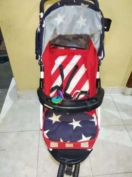 Stroller L'abbeile second no minus bisa 3 posisi